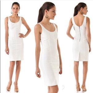 Club Monaco white sheath dress